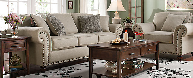Corliss Traditional Living Collection | Design Tips U0026 Ideas | Raymour And  Flanigan Furniture