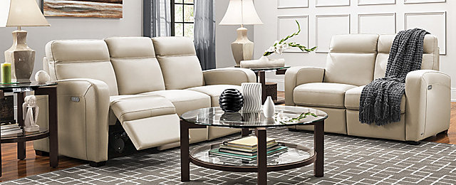Denton Contemporary Living Room Collection | Design Tips U0026 Ideas | Raymour  And Flanigan Furniture
