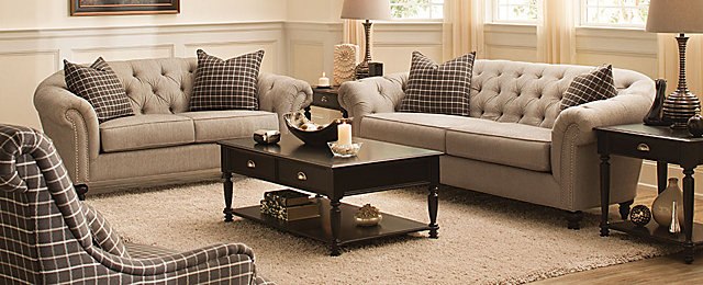 Harlow Transitional Living Collection