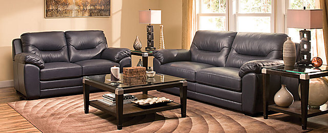 Raymour And Flanigan Couches Skye Casual Living Room