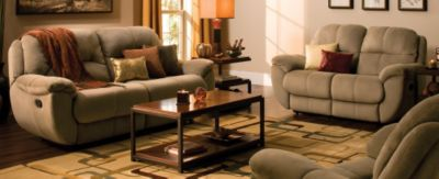 kathy ireland Home Quinn Casual Microfiber Living Room Collection