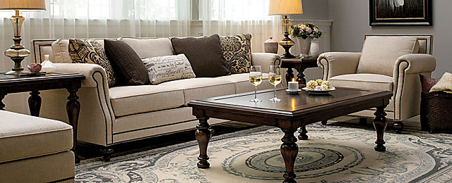 Traditional Living Room Tables lamour traditional living room collection | design tips & ideas