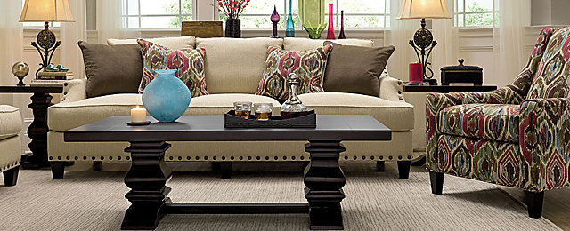 leander transitional living room collection
