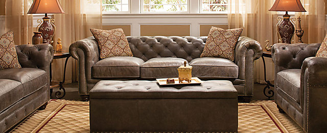 Saddler Transitional Living Room Collection | Design Tips U0026 Ideas | Raymour  And Flanigan Furniture Part 81