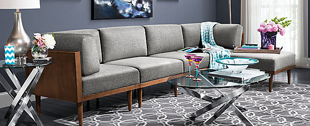 Soto Contemporary Living Room Collection | Design Tips U0026 Ideas | Raymour  And Flanigan Furniture