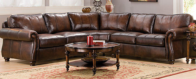 Bernhardt sectional leather sofa sectionals bernhardt thesofa for Bernhardt living room furniture