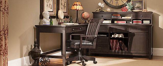Gage Transitional Home Office Collection | Design Tips U0026 Ideas | Raymour  And Flanigan Furniture