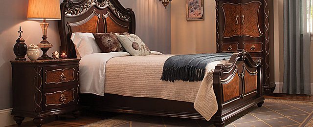 Palazzo Traditional Bedroom Collection | Design Tips U0026 Ideas | Raymour And Flanigan  Furniture