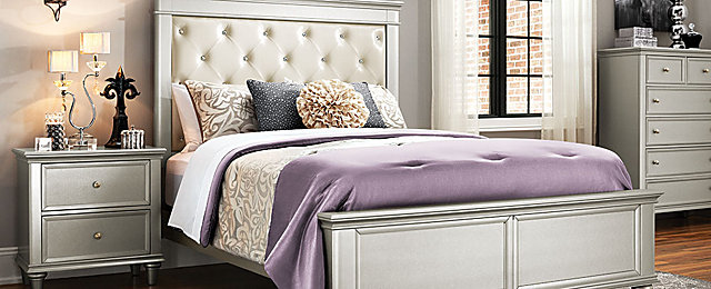 Tiffany Transitional Bedroom Collection | Design Tips U0026 Ideas | Raymour And  Flanigan Furniture