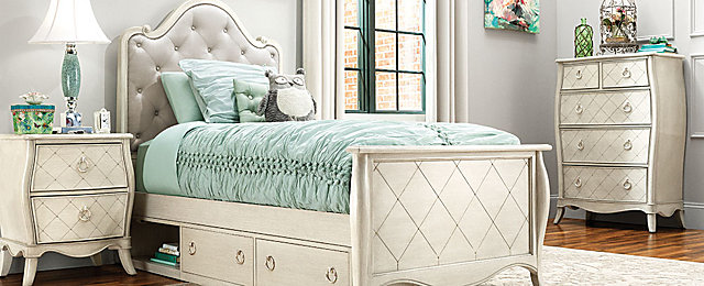 Mila Transitional Kids Bedroom Collection | Design Tips U0026 Ideas | Raymour  And Flanigan Furniture