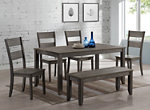 Sean 6-pc. Dining Set w/Bench