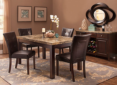 Bedrock Contemporary Dining Collection