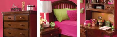What Little Girl Wouldnu0027t Love This Pink And Lime Green Bedroom? Sticking  With The Middle Tiers Of The Color Wheel, This Complementary Room Looks  Like A ...