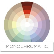 It Uses Tints And Shades Of One Color Staying Within The Same Column On Wheel A Monochromatic Scheme For Orange Red Might Feature Range