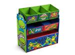 Teenage Mutant Ninja Turtles Multi-Bin Toy Organizer