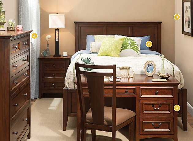 Big Bed Small Room big plans for small spaces | one-bed wonder | raymour and flanigan