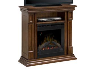 Deerhurst 37 Tv Console W 20 Electric Fireplace Logs