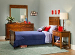Shadow 4-pc. Twin Long Bedroom Set