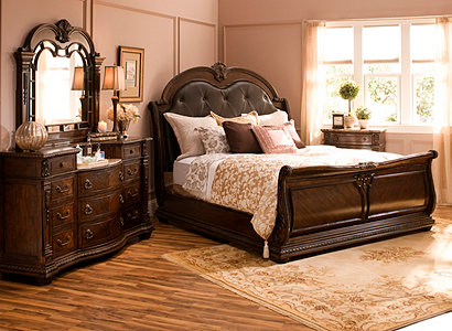 Wilshire Traditional Bedroom Collection Design Tips