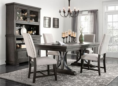 Halloway 5 Pc Dining Set Raymour, Raymour And Flanigan Dining Room Sets
