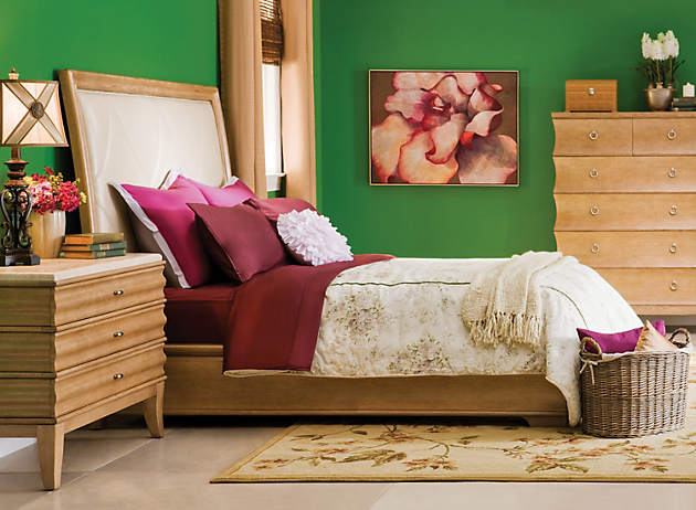 Split Complementary Room color story – decorating with green | split complementary