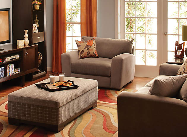 Family Friendly Living Rooms | Kid Proofing | Raymour and Flanigan ...