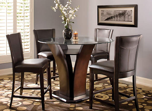 Dining Room Dilemma   Small Space Solutions   Raymour and Flanigan Furniture  Design Center. Dining Room Dilemma   Small Space Solutions   Raymour and Flanigan