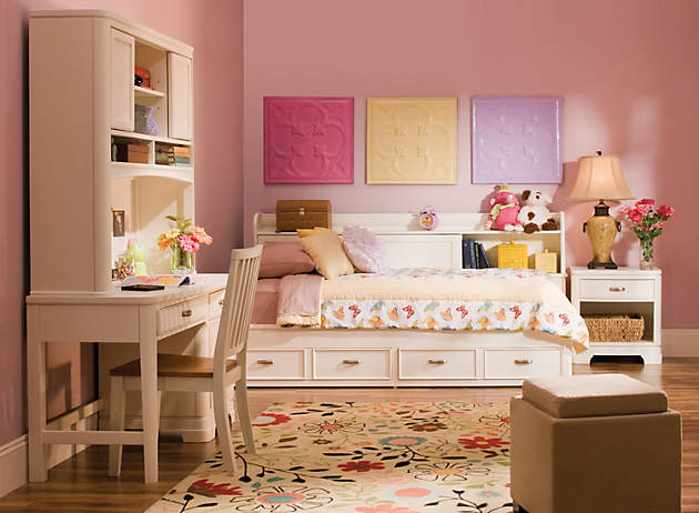 Pint Sized Kids Bedrooms A Girl Can Dream Raymour And