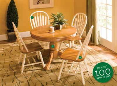 Dining Room Furniture That Fits Small Talk Raymour and Flanigan