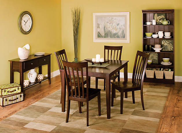 Color story decorating with lime green analogous for Lime green dining room ideas