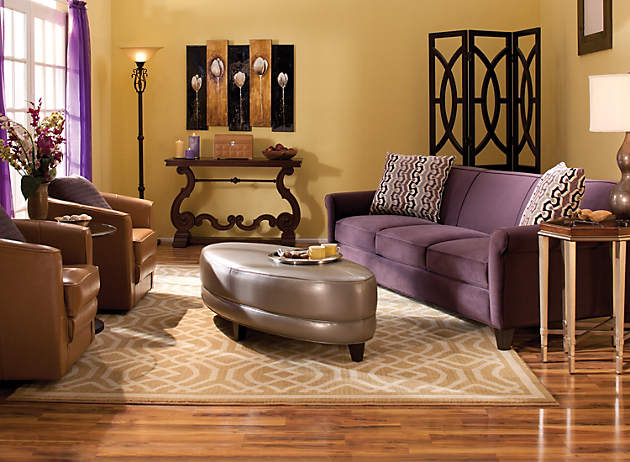 Color Story Decorating With Purple Complementary