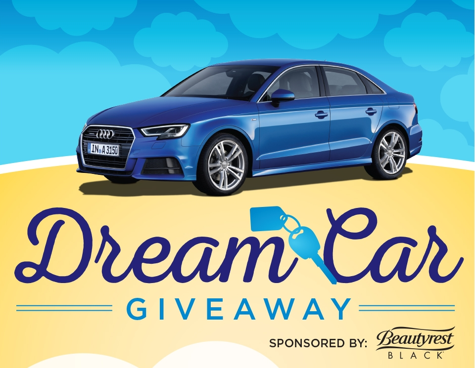 Dream Car Giveaway, Sponsored by Beautyrest Black