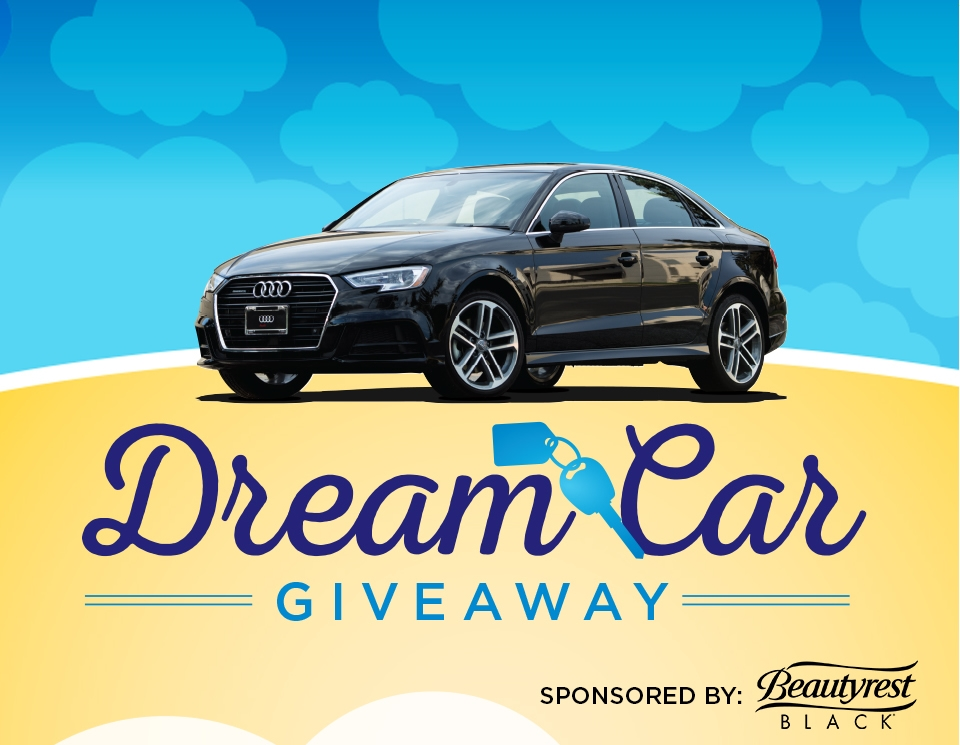 Dream Car Giveaway Raymour Flanigan Furniture And Mattresses - Audi car giveaway