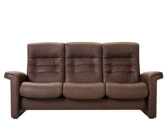 Stressless Shire Leather Reclining Sofa