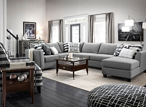 2 Accent Chairs And A Tv And Sectional.Raymour Flanigan