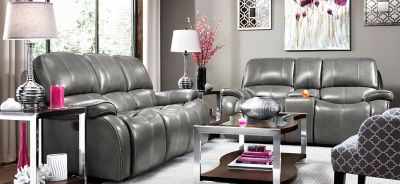 Marvelous Vivaldi Leather Power Reclining Sofa