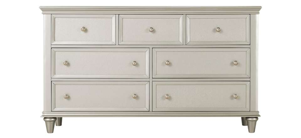 Product Image. Tiffany Bedroom Dresser   Silver   Raymour   Flanigan