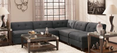Delicieux View All Jonathan Louis Furniture Collections · Tate 5 Pc. Microfiber  Modular Sectional Sofa
