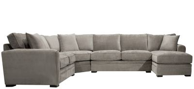 Microfiber Sectional Sofa. Product Image