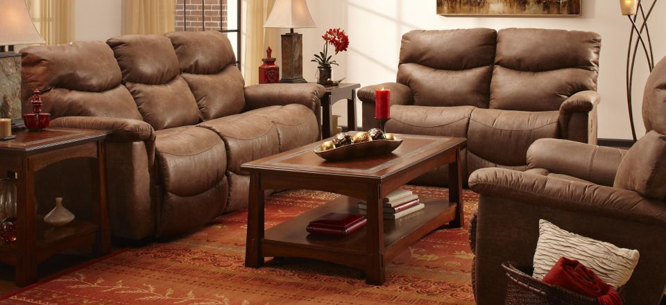 James Power-Reclining Sofa