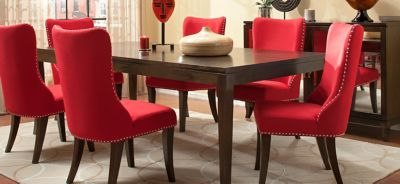 Quality Of Raymour And Flanigan Furniture Part - 15: Glamour 7-pc. Dining Set