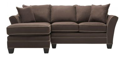 Microfiber Sectional Sofa  sc 1 st  Raymour u0026 Flanigan : micro fiber sectional couch - Sectionals, Sofas & Couches