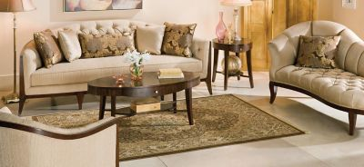 View All Schnadig Furniture Collections · Maxine Chenille Sofa