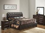 Marilla 4-pc. Upholstered Queen Bedroom Set