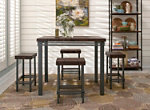 Jenson 5-pc. Counter-Height Dining Set
