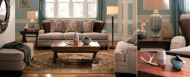Color Story Decorating With Turquoise Monochromatic Raymour