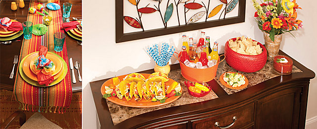 Designing A Dinner Party Mexican Fiesta Raymour And