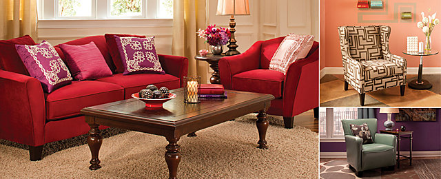 Color Story Decorating With Pink Analogous Raymour And