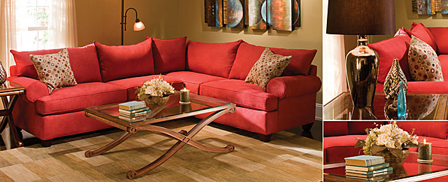 Color Story Decorating With Red Split Complementary