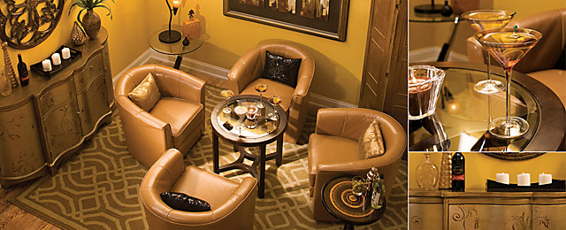 Color Story U2013 Decorating With Gold | Monochromatic | Raymour And Flanigan Furniture  Design Center